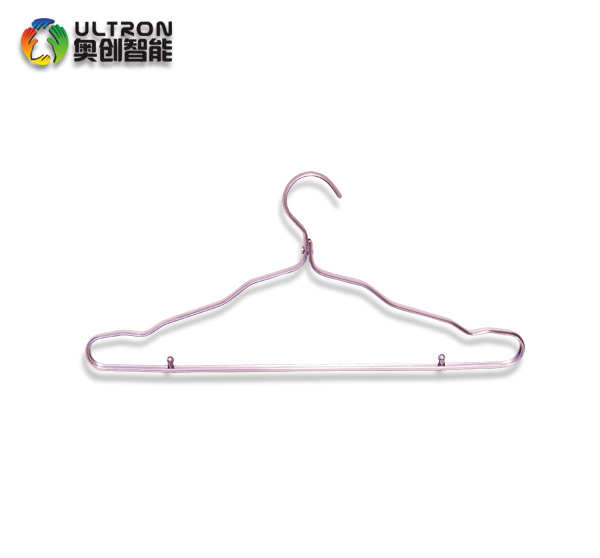 clothing type aluminum alloy hanger for kids