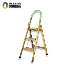 Model AC-L-3 High Strength Aluminum 3 Steps Ladder with Handle